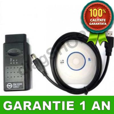 Interfata diagnoza Opel OPCOM - OP COM in lb. Romana, Maghiara si Engleza foto
