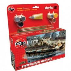 Kit Constructie Si Pictura Tanc King Tiger Pzkw Vi Ausf.B - Jocuri arta si creatie Airfix