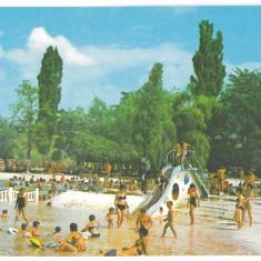 7412 - Romania ( 51 ) - Bihor, BAILE FELIX, Strand - postcard - unused - 1972 - Carte Postala Crisana dupa 1918, Necirculata, Printata