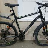 Bicicleta Trek 3900, cadru de aluminu, frane pe disc. PRET REDUS de la 1650ron! - Bicicleta de oras Trek, 19 inch, 26 inch, Numar viteze: 24, Aluminiu, Negru-Alb-Verde