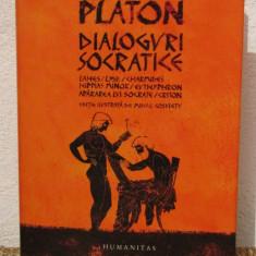 PLATON -DIALOGURI SOCRATICE - Filosofie