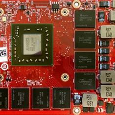 Placa Video laptop MXM 3.0b AMD FirePro M6100 2GB GDDR5 Dell Precision Alienware