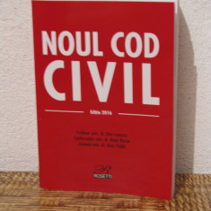 NOUL COD CIVIL 2016 - Carte Drept civil
