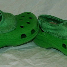 Papuci copii CROCS, Marime: 27.5, Culoare: Din imagine, Baieti