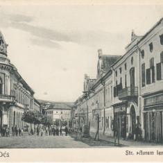 DEJ, STRADA AVRAM IANCU - Carte Postala Transilvania dupa 1918, Necirculata, Printata