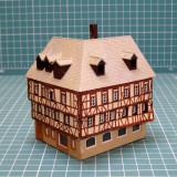 Casa cu etaj si mansarda scara N(5091)