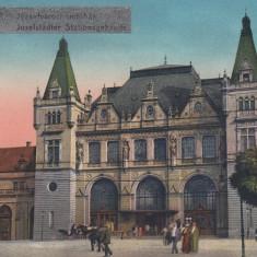 TIMISOARA(IOSEFIN), STATIA - Carte Postala Banat dupa 1918, Necirculata, Printata