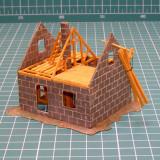 Casa in constructie scara HO(5160)