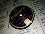 Disc ebonita patefon I vespri siciliani/ Danza ungherese no.6