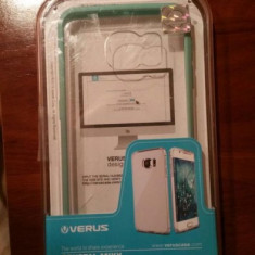 Husa bumper carcasa VERUS pentru Samsung Galaxy S6 EDGE G925F - Green Verde - Husa Telefon