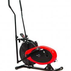 Bicicleta eliptica Hiton 17R-rosu - Bicicleta fitness Sportmann, Max. 110