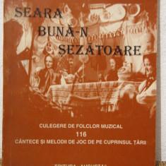 Seara buna-n sezatoare culegere de folclor muzical-Eugen Gal