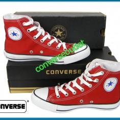 Tenisi Converse All Star Bascheti Ghete - Rosu - Marimi 40 44 - Pret Special - - Tenisi barbati, Marime: 43, Culoare: Din imagine
