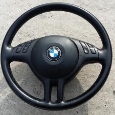 Volan sport piele cu comenzi si airbag BMW E46, 3 (E46) - [1998 - 2005]