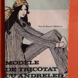 MODELE DE TRICOTAT CU ANDRELELE Viorica Bociort
