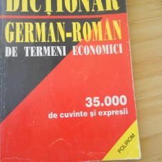 MAGDALENA LECA--DICTIONAR GERMAN-ROMAN DE TERMENI ECONOMICI
