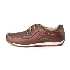 Pantofi eleganti din piele naturala exterior si interior, marca Grisport (GR40800OV6 ) - Pantofi barbat Grisport, Marime: 39, 41, 42, 43, 44, 45, 46, Culoare: Maro