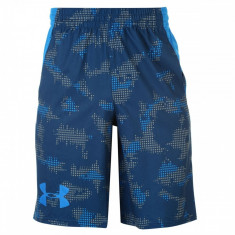 Pantaloni scurti Under Armour Print Accelerate Barbati - Bermude barbati Under Armour, Marime: M, Culoare: Din imagine, Poliester