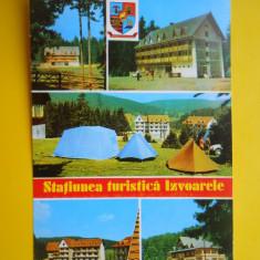 HOPCT  16951  STATIUNEA TURISTICA IZVOARELE  -JUD MARAMURES - [NECIRCULATA]