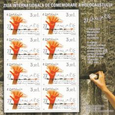 ROMANIA 2007, LP 1754b, MINICOALA CU 8 TIMBRE, MNH, LOT 1 RO - Timbre Romania, Nestampilat