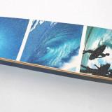 Longboard DROP SHAPE - Hawai - Roti Silikon - ABEC 7 - Axe Aluminiu - NOU -