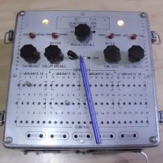 Manipulator cheie radio vechi armata anii 70 generator morse militar, foarte rar