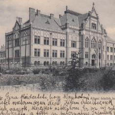 TIMISOARA, SCOALA SUPERIOARA DE STAT - Carte Postala Banat pana la 1904, Circulata, Printata