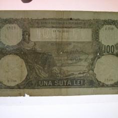 100 lei 1932 mai 13 B.7768 - Bancnota romaneasca