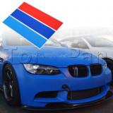 NOU ! Stickere grila BMW M Tech Paket E36 E46 E90 E60 Seria 3 5 7 - Embleme auto