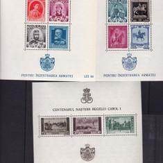 ROMANIA 1939/40, LP 133, PENTRU INZESTRAREA ARMATEI, MNH, LOT 1 RO - Timbre Romania, Nestampilat