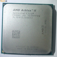 Procesor AM3 Triple core AMD Athlon II X3 445 3100 MHz 95W skt AM3 TRAY fara rac, 3