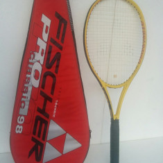 Racheta tenis FISCHER REVOLUTION PRO CLASSIC 98+husa - Racheta tenis de camp, Performanta, Grafit/Carbon