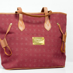 Geanta / Poseta de umar sau de mana Louis Vuitton LV + Cadou Surpriza - Geanta Dama Louis Vuitton, Culoare: Din imagine, Marime: One size, Geanta umar manere scurte, Bumbac