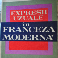 ARISTITA NEGREANU EXPRESII UZUALE IN FRANCEZA MODERNA - Curs Limba Franceza Altele