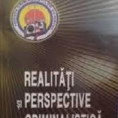 Realitati si perspective in criminalistica de Vasile Lapadusi - Carte Criminologie
