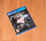 Joc PS4 - Metal Gear Solid V : Ground Zeroes , nou , sigilat