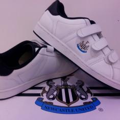 Adidas original New Castle United piele - Adidasi dama Lonsdale, Culoare: Alb, Marime: 35, 44, Piele naturala