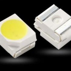 LED SMD PLCC 2 3528 Alb pur/rece/cald,Galben,Verde,Rosu, Albastru,Turcoaz, Mov