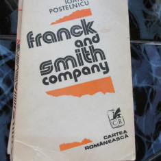 Franck and Smith company - Ioana Postelnicu