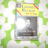 Caseta audio LIONEL RITCHIE - BACK TO FRONT (1992), Casete audio