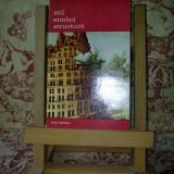 """Lorenz Dittmann - Stil simbol structura """"A2634"""" - Carte Istoria artei"""