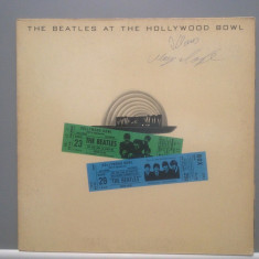 THE BEATLES - AT THE HOLLYWOOD BOWL - RAR ! (1977/ EMI /RFG) - Vinil/Vinyl/ROCK - Muzica Rock emi records