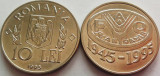 Moneda FAO 10 Lei - ROMANIA, anul 1995 **UNC tiraj redus