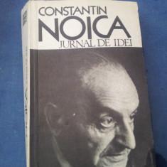 CONSTANTIN NOICA  JURNAL DE IDEI