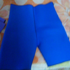 Pantalon scurt neoprem cu 2 fete negru albastru xxxl - Bermude barbati