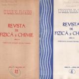 Revista de fizică şi chimie - 2 numere