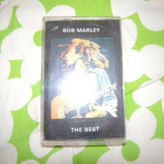 Caseta audio BOB MARLEY - THE BEST - Muzica Reggae, Casete audio