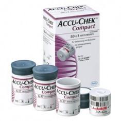 Teste glicemie pentru Accu Chek Compact si Compact Plus - Glucometru