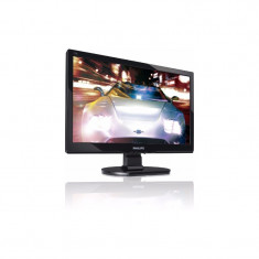 Monitor LCD Philips 192E1SB/00 18.5 inch 5 ms wide black, 18 inch, 1366 x 768, VGA (D-SUB), TN