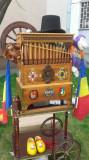 FLASNETA - Drehorgel Orgelbau Stuber Berlin-CU 20 TUBURI -  gramofon RARA AVIS !